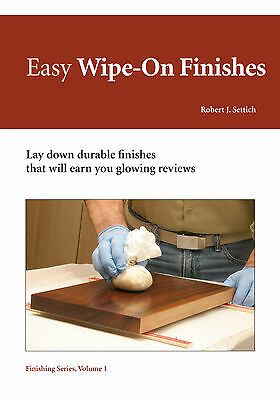 Easy Wipe-On Finishes NEW DVD VIDEO