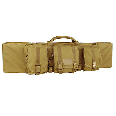 "CONDOR #133 36"" TAN MOLLE Tactical 5.56 .223 Hunting Rifle Mag Carrying Bag Case"