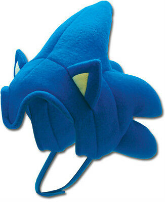 ** SONIC THE HEDGEHOG SOFT PLUSH SONIC HAT GENUINE LICENSED PRODUCT ** 2380