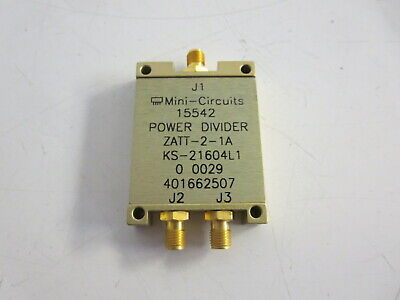 Mini Circuits, POWER DIVIDER ZATT-2-1A,  KS21604 L1 - LOT OF 2 EA