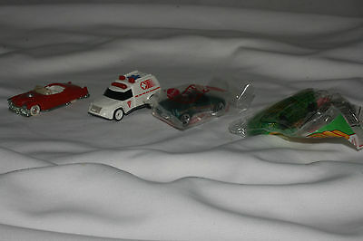 Lot of 4 Hot Wheels McDonald's Cars, Sports Cars, Etc. Mint