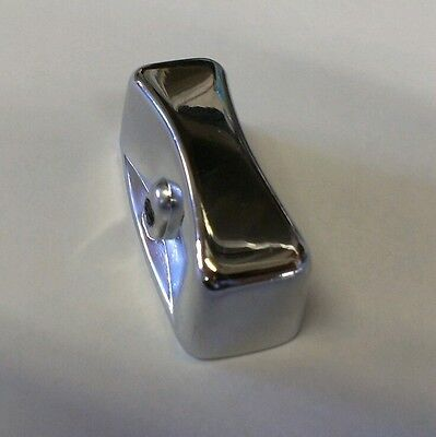 Chrome Knob Dial for Gas Control Valve Stove Range Oven Griddle Char Broiler BBQ