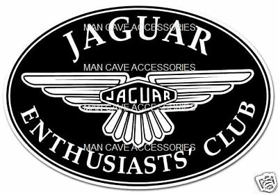 JAGUAR Enthusiasts Club Decal Sticker
