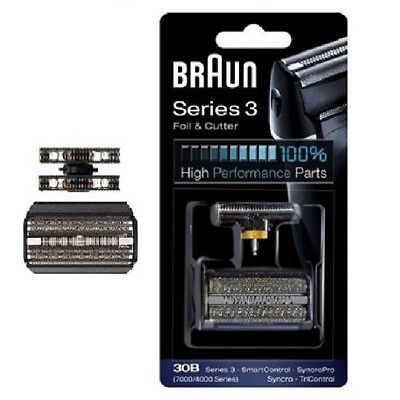 Braun 30B Replacement Foil & Cutter TriControl - 7000/4000 series Pack