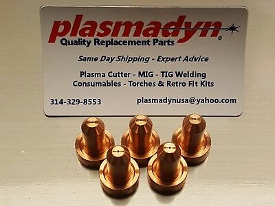 5 x Thermal Dynamics 9-8208 40A Nozzles (9-8208) SL60/100 *FAST US SHIP*