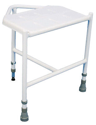 Pembury Height Adjustbale Corner Disability Bathroom Shower Stool Aid #VB636