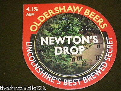 Beer Pump Clip - Oldershaw Beers Newton's Drop
