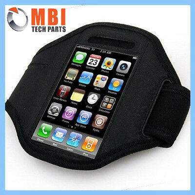New Black Sport Exercise Armband Case Holder Cover For iPod Touch iPhone 4 4G 4S