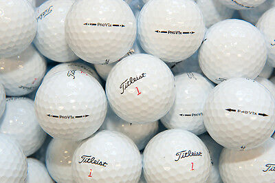 50 Titleist Pro V1X MINT Grade Refinished Golf Balls