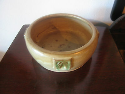 Antique Early 20th Century Arts & Crafts Period Glazed Ware Bowl Peters and Reed