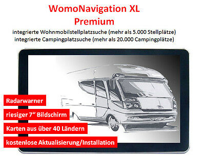 navigationsger t 7 zoll europa gps navi f rs wohnmobil. Black Bedroom Furniture Sets. Home Design Ideas