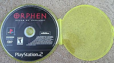 PS2 Orphen: Scion of Sorcery  DISC ONLY SPECIAL Playstation 2