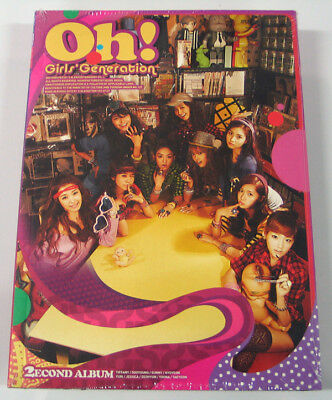 SNSD Girls' Generation - Oh! (2nd Album) CD+Photo Booklet+Photocard K-POP KPOP