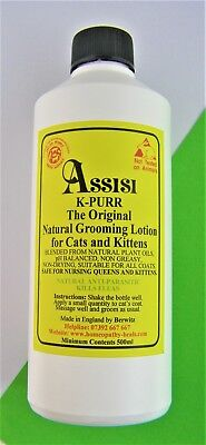 CAT FLEA & TICK NATURAL LOTION 500ml FOR CATS & KITTENS.SAFE,EFFECTIVE,NON TOXIC