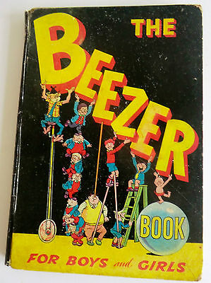 Rare Vintage Hb Annual - The Second Beezer Book 1959 - Ginger, Colonel Blink Etc