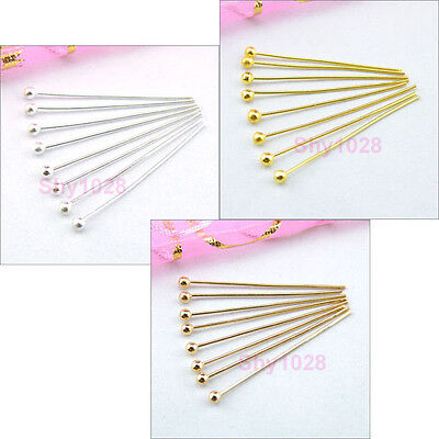 Ball Head Pins,15mm,20mm,25mm,30mm,3Color-1 R5056-Free Shipping