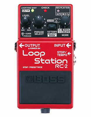 Boss Guitar Effect Pedal Rc3 Loop Station Pedal Rc-3