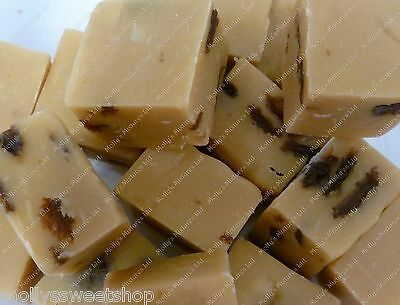 Lonka Rum And Raisin Fudge - Quality Sweets - Select Weight 500g, 1kg or 2kg Tub