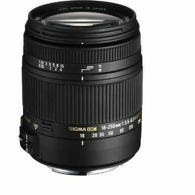 Sigma 18-250mm f/3.5-6.3 OS HSM DC Lens For Nikon Great all in one lens