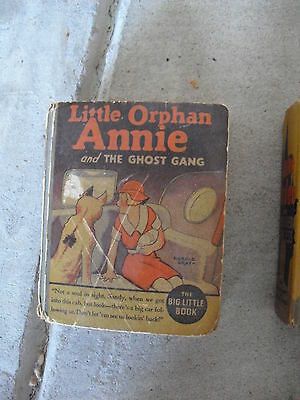 Vintage 1935 Big Little Book - Little Orphan Annie and the Ghost Gang 1154