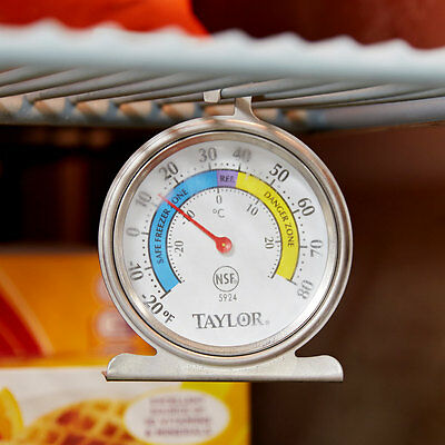 USA SELLER  Taylor Freezer/Refrigerator Thermometer #5924 Free Shipping US Only