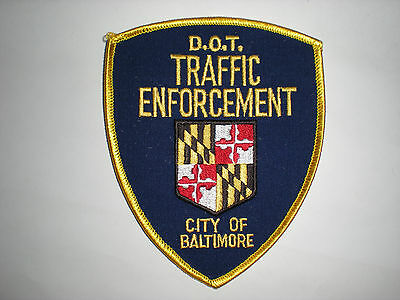 Maryland Department Of Transportation Traffic Enforcement  Patch