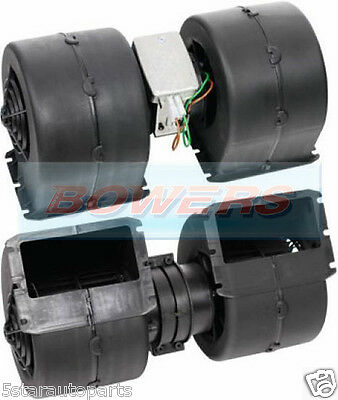 24V Volt Double/twin Blower/fan Motor/unit/enclosure 4 Speed Optare Solo Spal