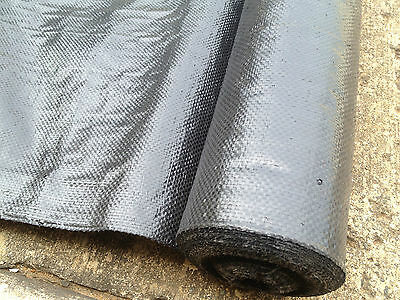 WEED MATTING / WEED MATT - 50m x 1.83m **BUY WHERE THE LANDSCAPERS DO & SAVE $$*