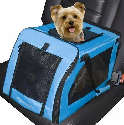 Pet Gear Signature Car Seat & Carrier For Cats And Dogs Up To 20-Pounds Aqua