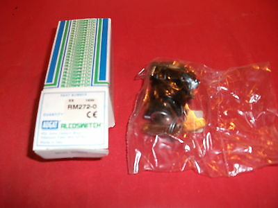 Augat AlcoSwitch RM272-0 Key Switch Sealed Packages