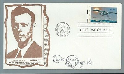 Aviation Pioneer Carl J. Crane signed cover