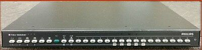 PHILIPS VIDEO MULTILEXER 16 CHANNEL DUPLEX B&W LTC2652/90