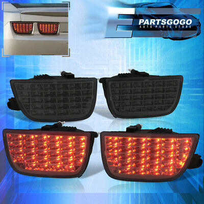 Chevy Camaro 10-13 Sequential Signal LED Rear lamp Brake Tail Lights Clear Lens