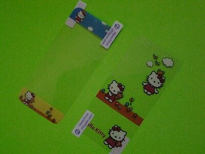 Clear Hello Kitty Screen protector (Front and Back) for iphone 5 5G SP04