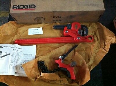 Ridgid 31375 Model S 2 , 2 Inch Heavy Duty Compound Leverage Wrench NEW