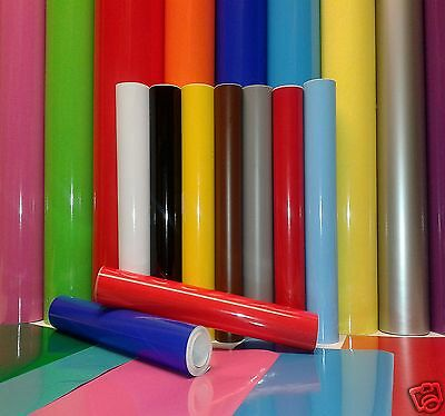 10 MTR ROLL OF 610mm WIDE STICKY BACK PLASTIC SELF ADHESIVE SIGN VINYL