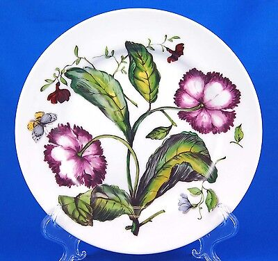 Mottahedeh THE EXOTIC PLANT (Floral F) Luncheon Plate 9.25 in. Various Floral