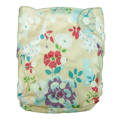 Nice washable pocket Reusable Baby Cloth Diaper Nappy+1Insert for girls N38