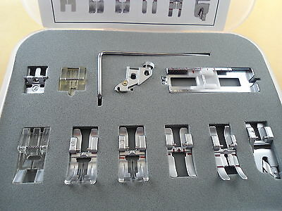 11 PCS SNAP ON PRESSER Foot Pfaff Creative Performance Ambition Quilt Expression