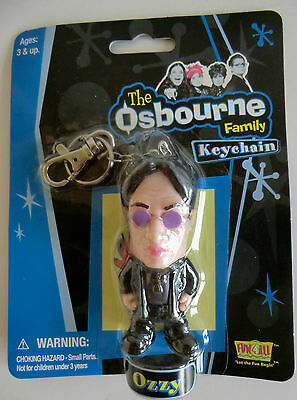*new* Ozzy Osbourne 3D Figure Key Ring Chain Fob