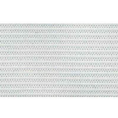 Double Knitted Elastic White 50Mm Wide Premium Quality Per Meter Sewing Craft