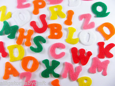 "20 SETS! Felt Alphabet Letters 520 Storyboard Felt Board Kid Crafts 3/4"" ABCraft"