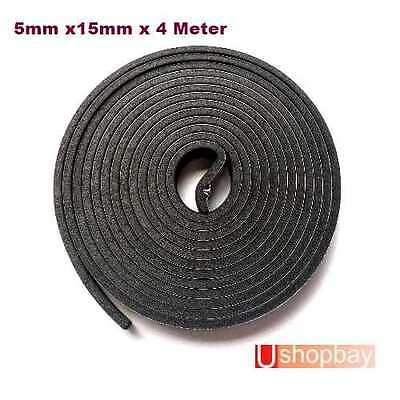 Universal weather strip Seal Strip EPDM Tape 4M Trunk Roof Sunroof  Window Seal