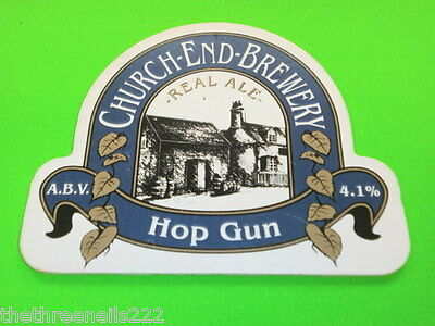 Beer Pump Clip - Church-End-Brewery Hop Gun