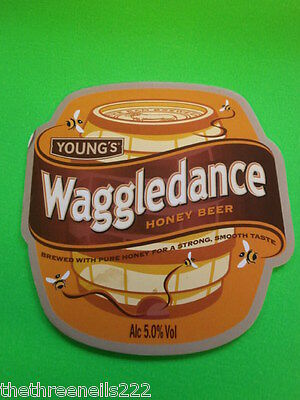 Beer Pump Clip - Young's Waggledance Honey Beer