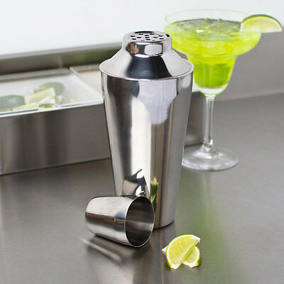 Bar Cocktail Shaker Set 3 Pc 16 Oz S/S  Free Shipping Us Only