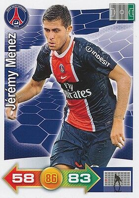 Jeremy Menez # Paris.sg Psg Card Panini Adrenalyn 2012