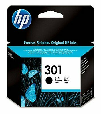 HP 301 Black Ink Cartridge 3050a 2050a 1050a 3050 2050 1050 1000 Blister