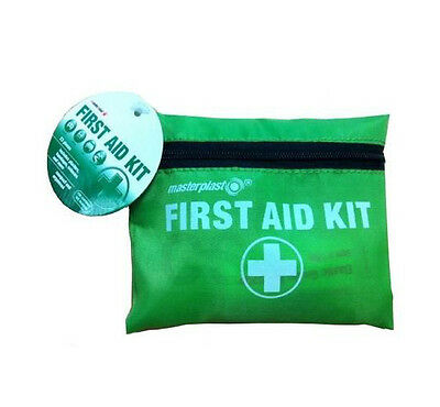 First Aid 23 Piece Compact Belt Kit in Small Bag Travel Sports Home Office Car