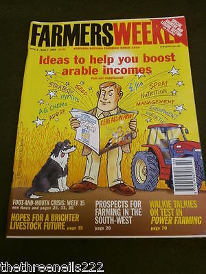 Farmers Weekly - Boost Arable Incomes - June 1 2001